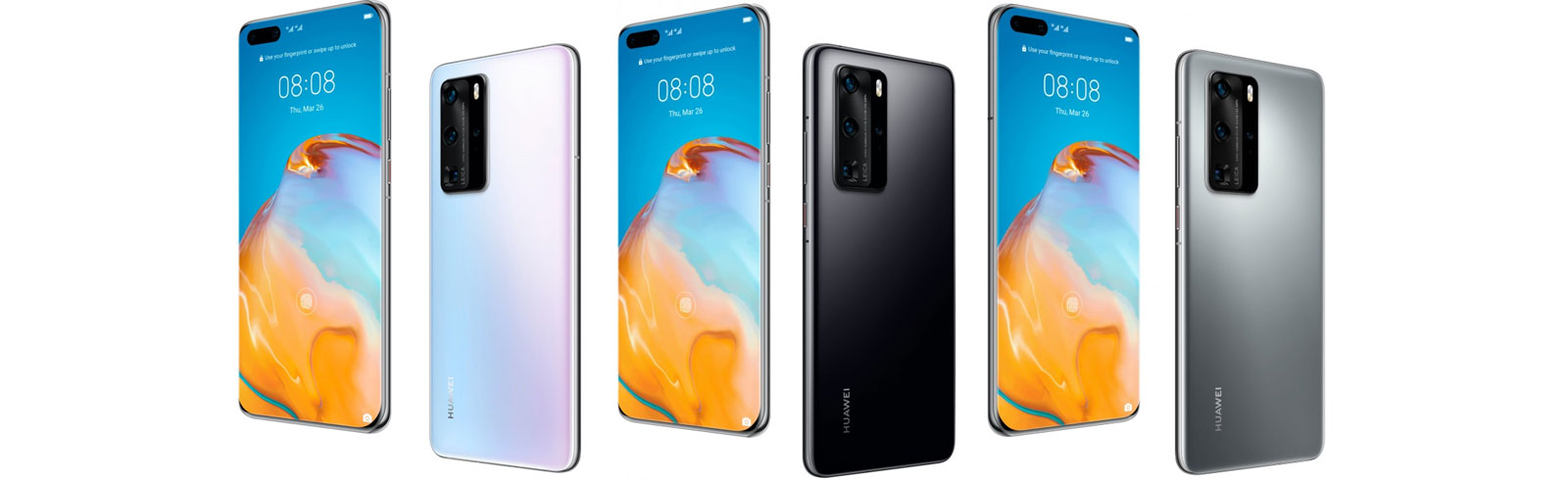 Huawei P40 and Huawei P40 Pro specifications and features