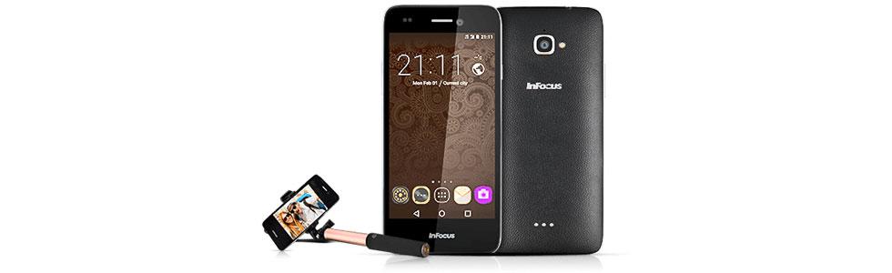 InFocus announced the Bingo 50 - a selfie-centric 4G LTE smartphone