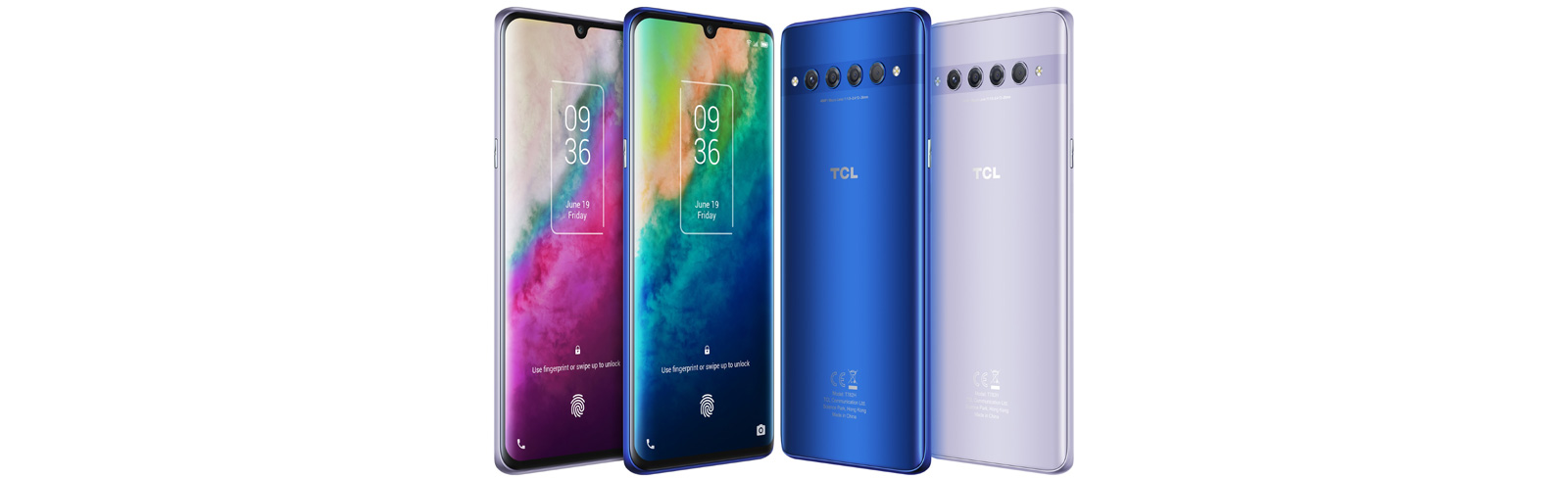 TCL 10 Plus with FHD+ AMOLED display and TCL 10 SE with HD+ IPS display go official in Russia