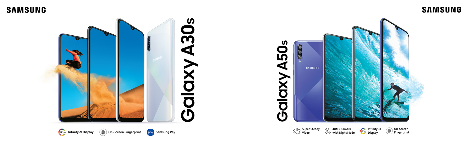 Samsung launches the Galaxy A30s and Galaxy A50s