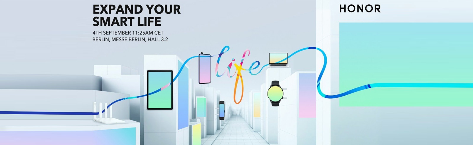 The Honor IFA 2020 launch event will be held on September 4th, you can watch it here