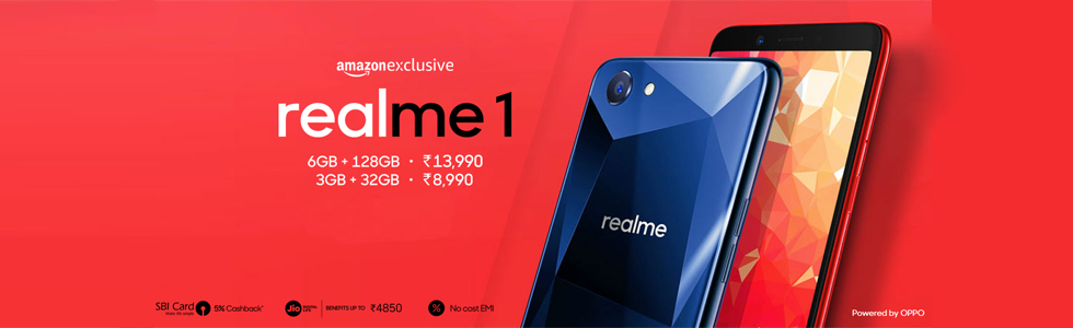 Oppo has announced the Realme 1, the first smartphone from its Realme sub-brand