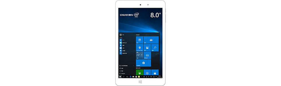 Chuwi presented the Hi8 Pro with a USB Type-C port and Intel Cherry Trail on board