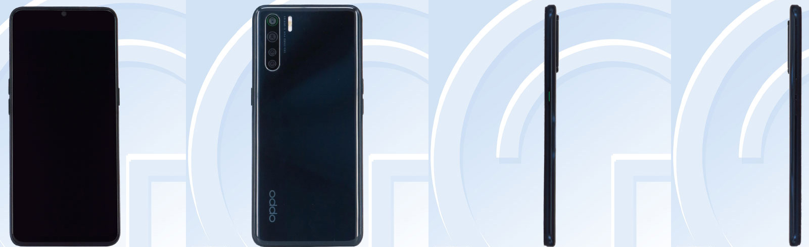 Oppo Reno3 specifications appear on TENAA