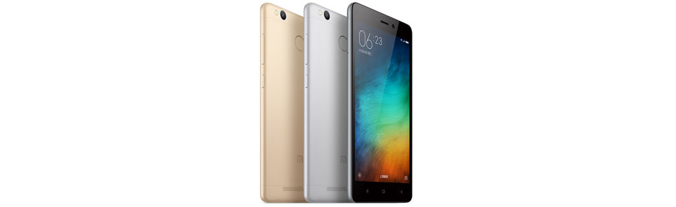 Xiaomi presented the Redmi 3 High Version with 3GB of RAM and 32GB of storage