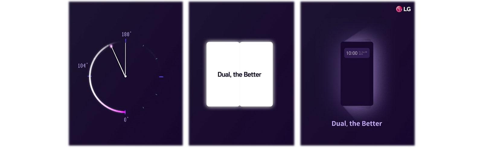 LG teases again the LG Dual Screen