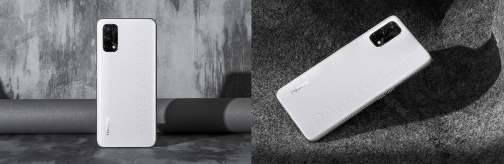 Realme Q2 Pro teased with a leather back