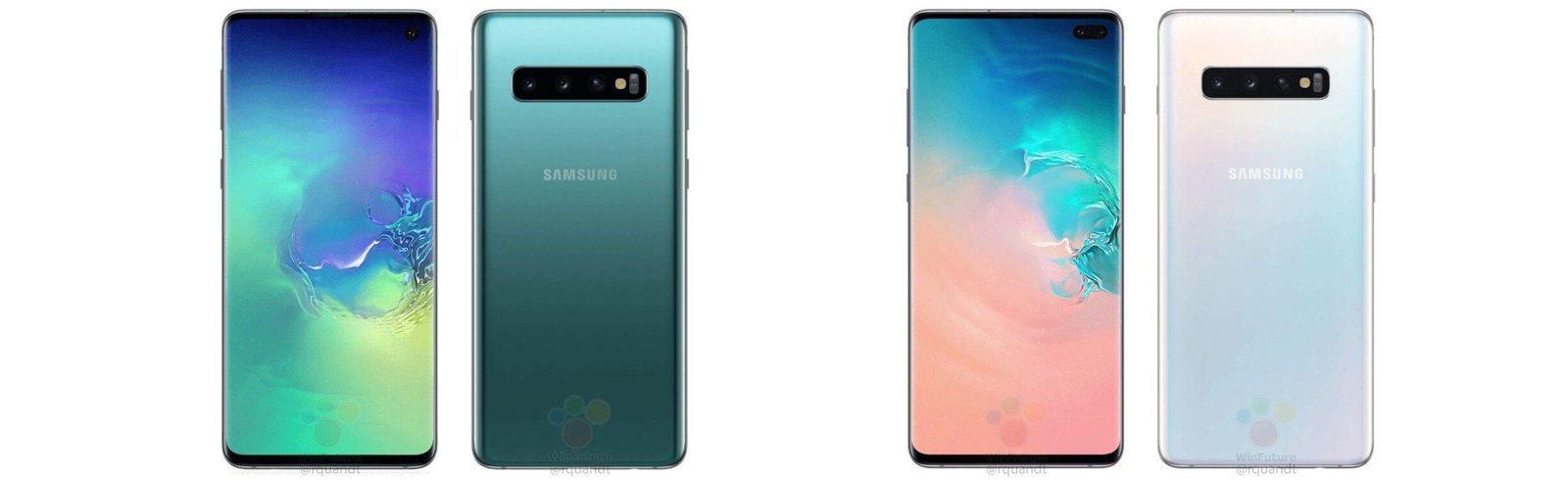 Samsung Galaxy S10 series prices and renders leak
