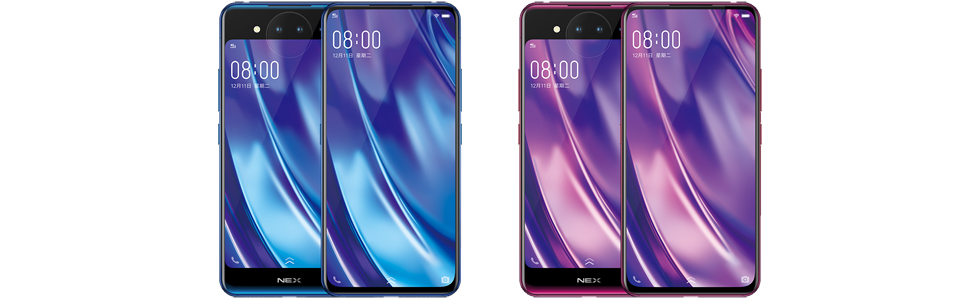 "Vivo NEX Dual Display Edition is official with a 6.39"" and a 5.49"" display, Snapdragon 845, 10GB of RAM"