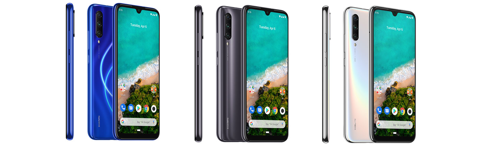 Xiaomi Mi A3 with Android One is official, prices start at €249