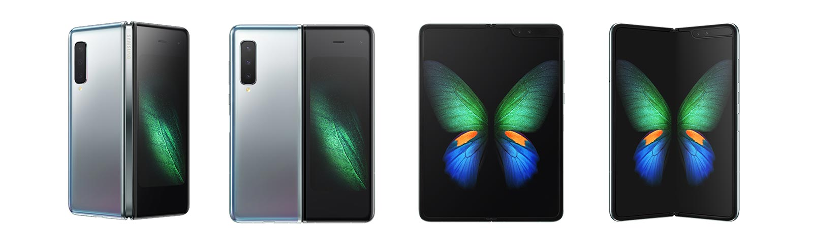 Samsung releases the Galaxy Fold and Galaxy Fold 5G