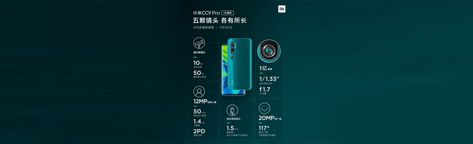 Xiaomi Mi CC9 Pro appears on TENAA, will launch globally as Xiaomi Mi Note 10