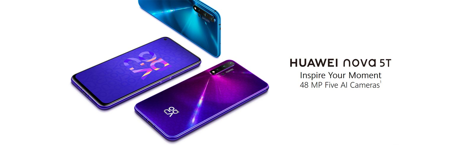 Huawei takes the wraps off the nova 5T