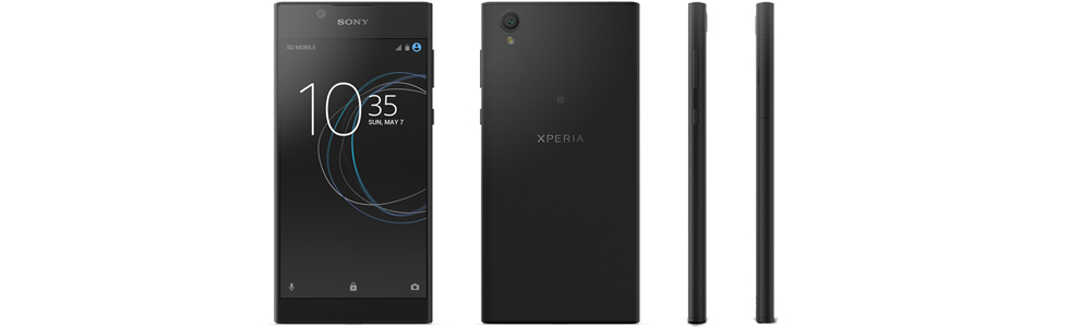 Sony introduces the Xperia L1 based on a MediaTek chipset