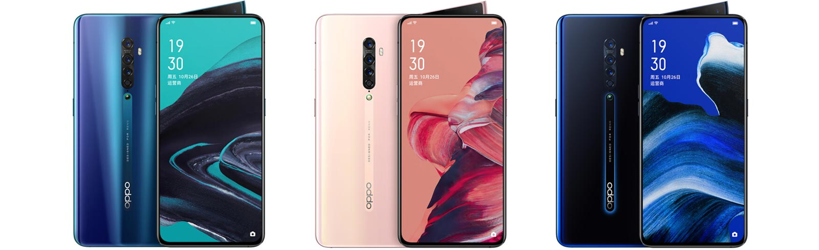 Oppo Reno 2 appears on JD unveiling official images and specifications