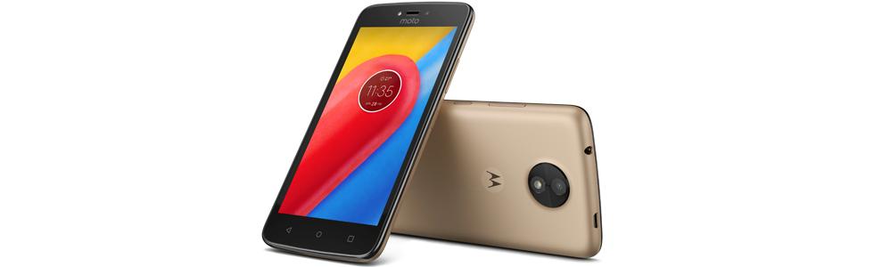 Motorola presents the entry-level Moto C and Moto C Plus