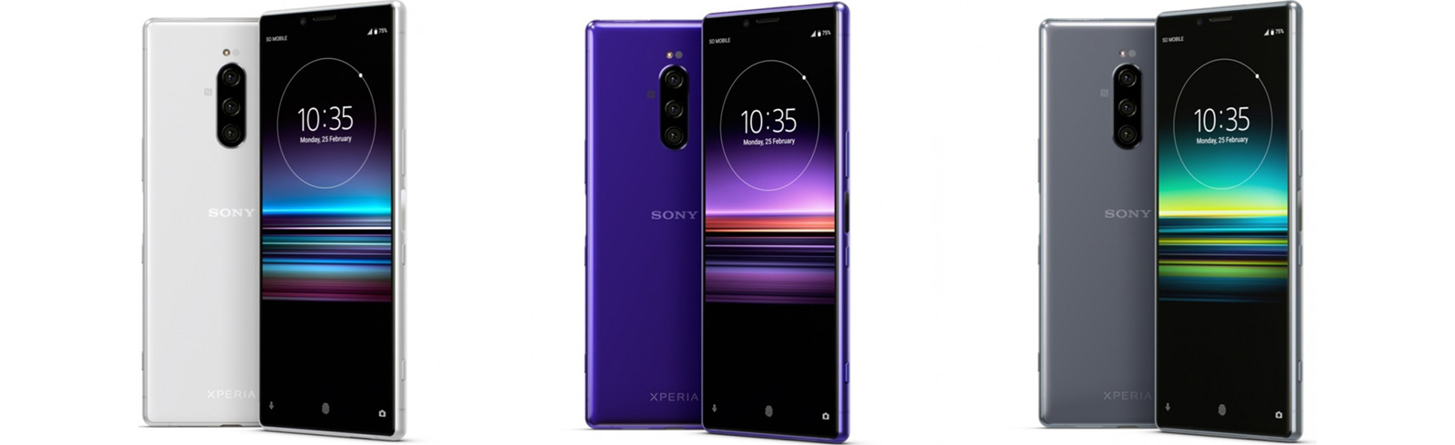 Sony Xperia 1 with a 4K UHD OLED display and triple rear camera is official