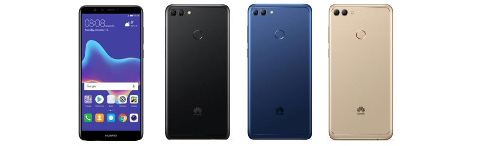 Huawei Y9 2018 with four cameras announced in Taiwan, will go on sale on March 15th