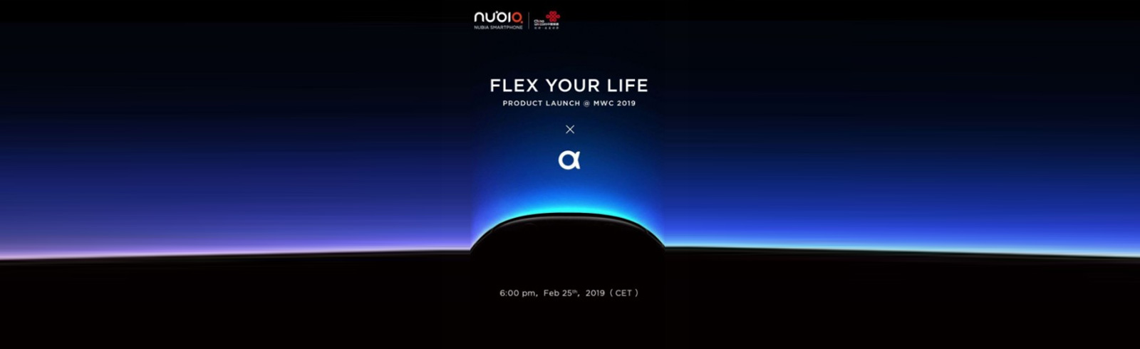nubia will probably announce nubia-α on February 25th at the 2019 MWC in Barcelona
