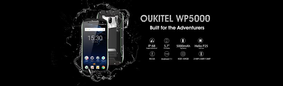 Oukitel WP5000 official specs unveiled, survives a dip in mud, hot water and ice