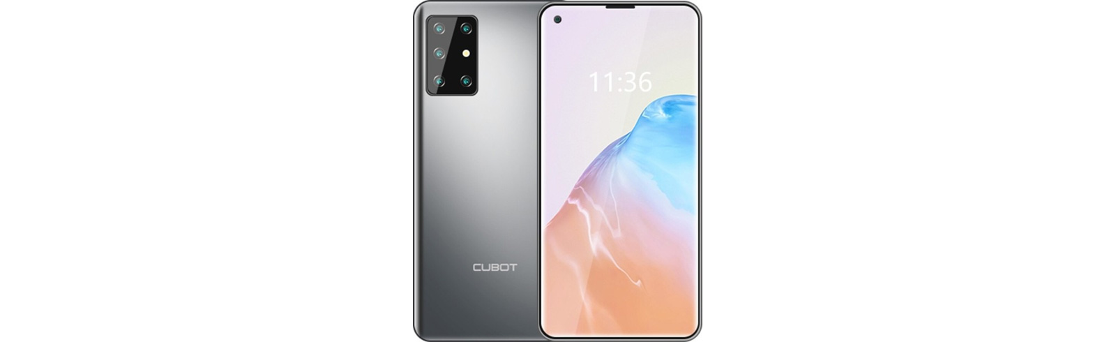 Cubot X30 with five rear cameras and a 32MP front-facing snapper appears on AliExpress