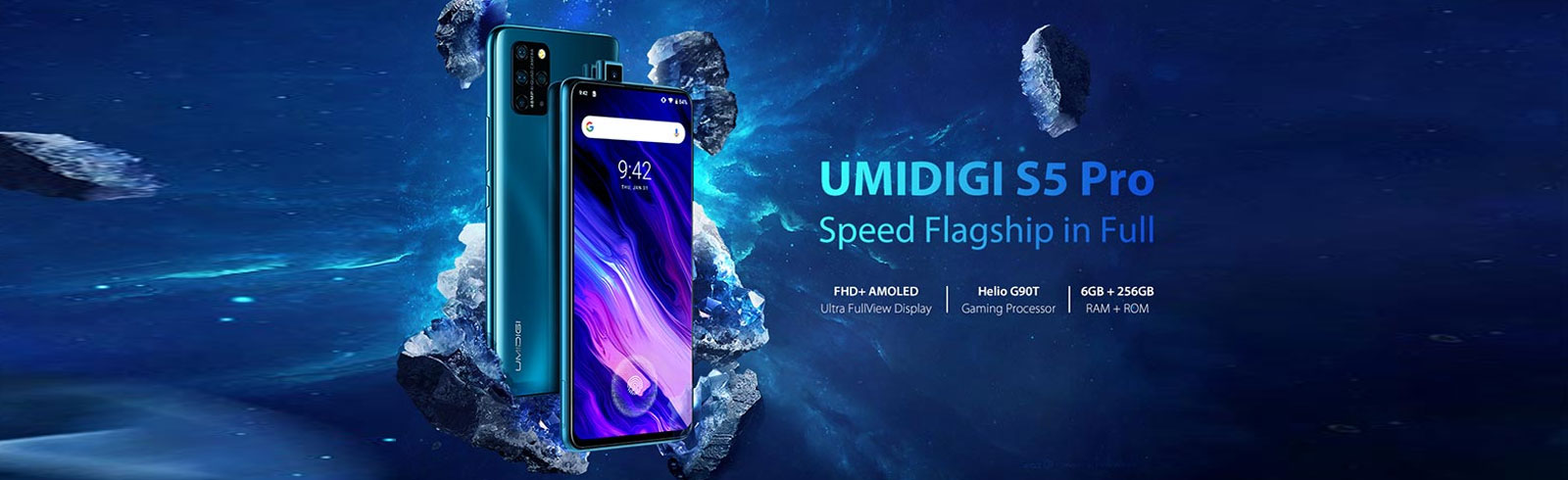 UMIDIGI S5 Pro goes official with a pop-up selfie camera, AMOLED display, Helio G90T chipset