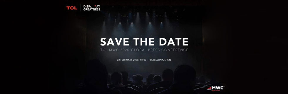TCL 10L, TCL 10 Pro, TCL 10 5G and TCL Foldable will be presented on February 22