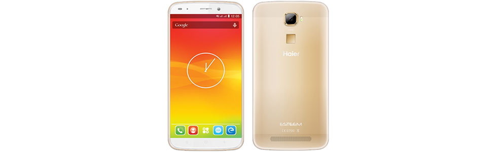 Haier presents two new smartphones at the CES 2016 in Las Vegas