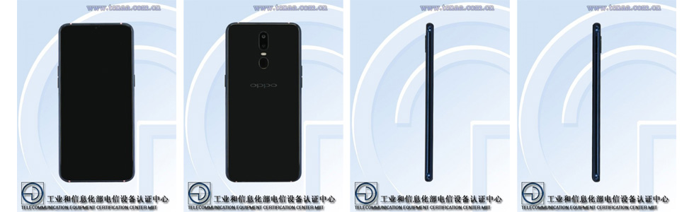 Oppo R17 appears on TENAA with a rear fingerprint sensor, an in-display one is preserved for Oppo R17 Plus