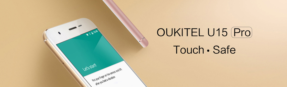 Oukitel announces the U15 Pro with a very slim body and a 3000 mAh battery