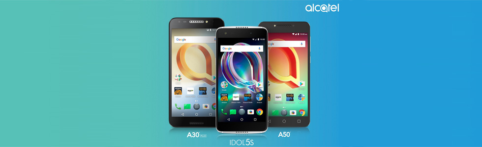 Alcatel launches via Amazon three new feature-packed smartphones