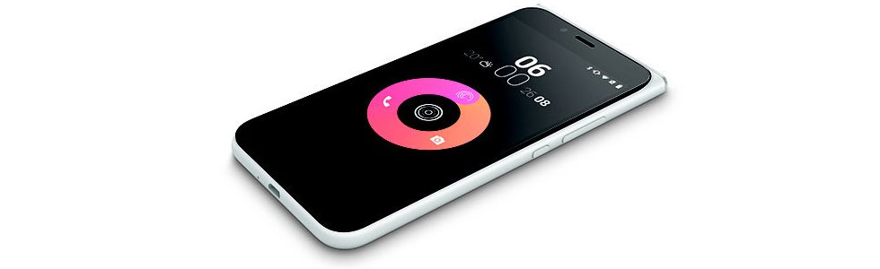 """Obi Worldphone unveiled the MV1 with its signature """"floating"""" display and affordable price"""