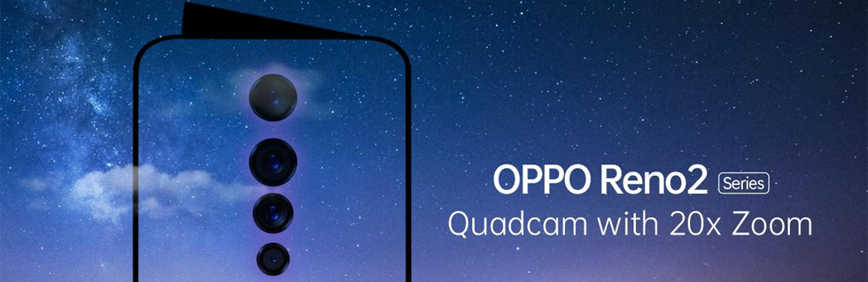 Oppo Reno 2 series will debut in India on August 28th