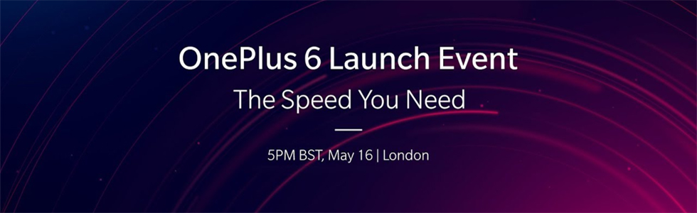 Watch the OnePlus 6 launch event here