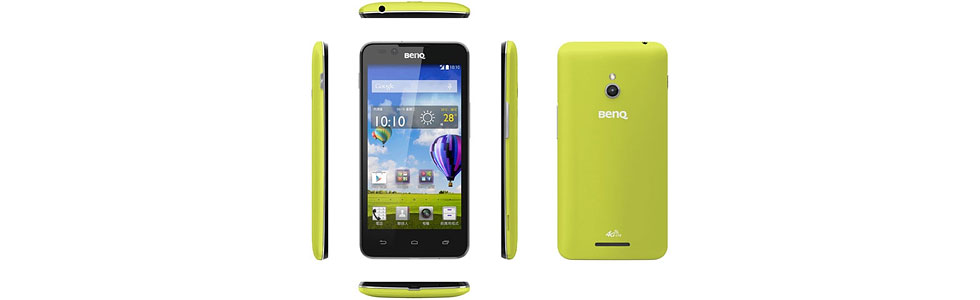 BenQ releases two 4G LTE smartphones - the F5 and the T3