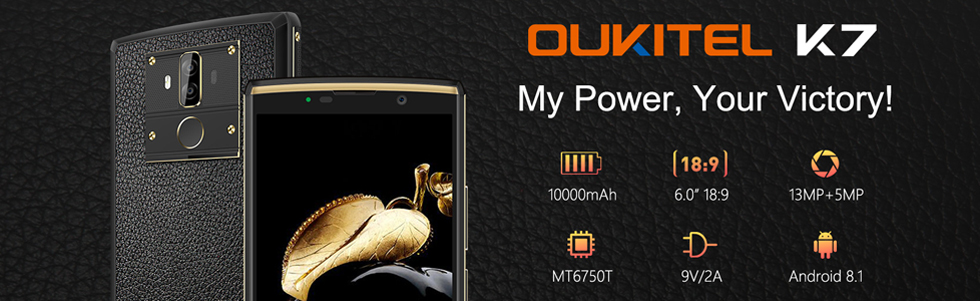 Oukitel K7 hands-on video, full specifications confirmed