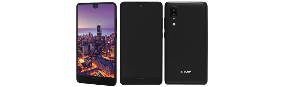 Sharp re-enters the European smartphone market with three models