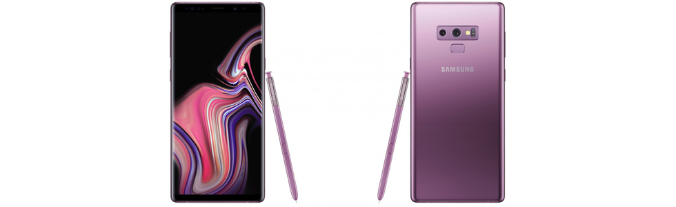 Pricing and availability of Samsung Galaxy Note 9