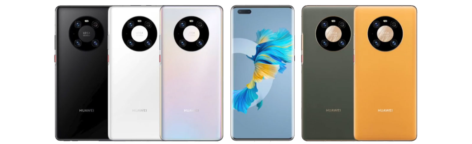 Huawei Mate 40, Mate 40 Pro, and Mate 40 Pro+ are unveiled with Kirin 9000 chipset