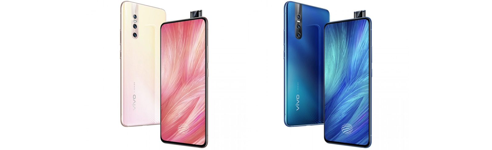 Vivo X27 is announced with a pop-up front camera and three rear shooters