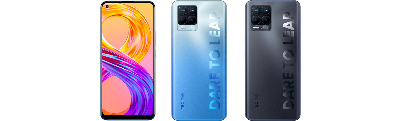 Realme 8 Pro and Realme 8 are official - specifications and prices
