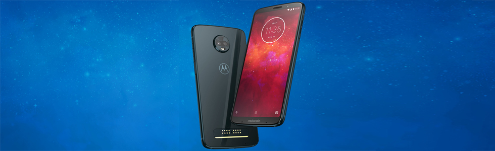 Moto Z3 Play is official promising up to 40 hours of battery life with the Moto Power Pack on