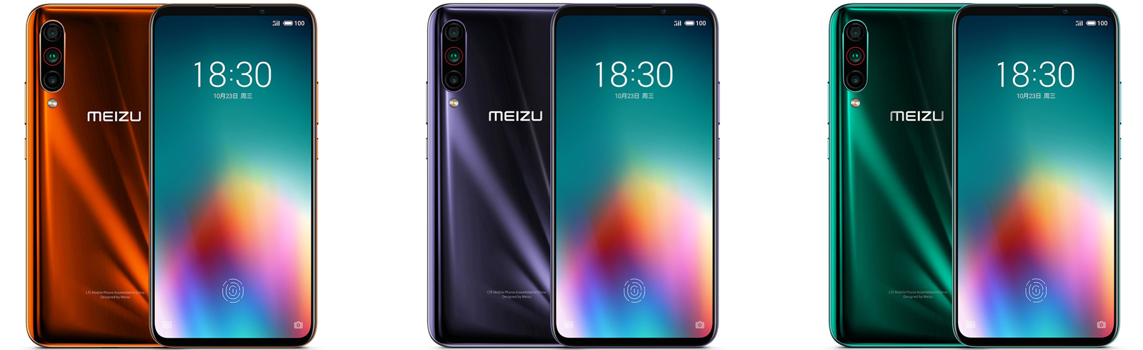 Meizu 16T goes official with a 4500 mAh battery, AMOLED display, triple cameras