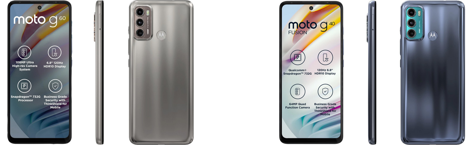 Motorola Moto G60 and Moto G40 Fusion are launched in India