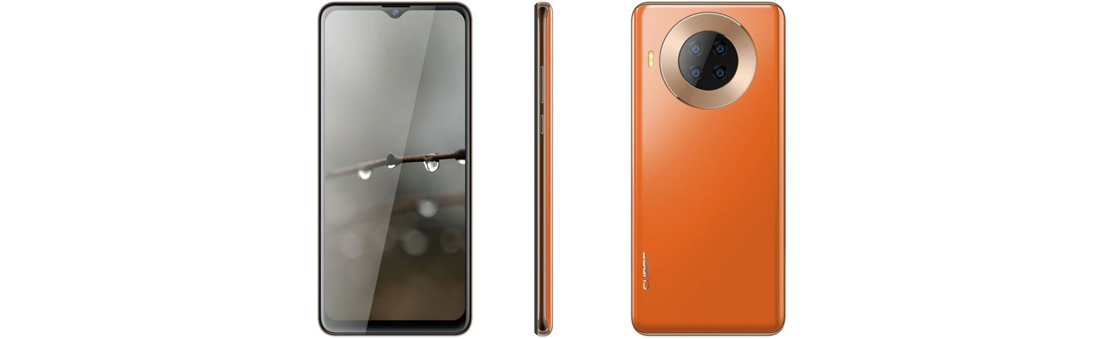 Cubot Note 20 - excellent if you want to get a Huawei Mate 30 Pro 5G design for a hundred bucks