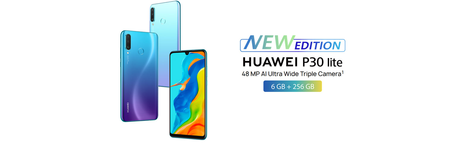 Huawei P30 Lite New Edition goes official with 6GB RAM 256GB storage, 48MP main camera