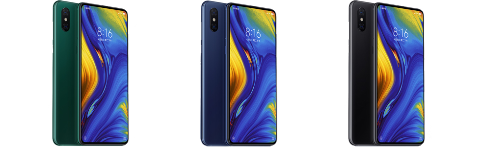 Xiaomi Mi MIX 3 5G playing an 8K video on a 5G network teased