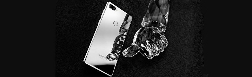 Oukitel Mix 2 will get a silver version showed-off in a video