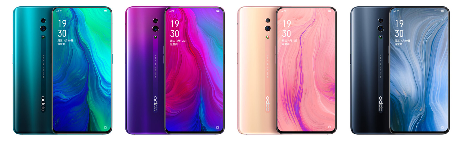 Oppo Reno official renders are published, reservations are open