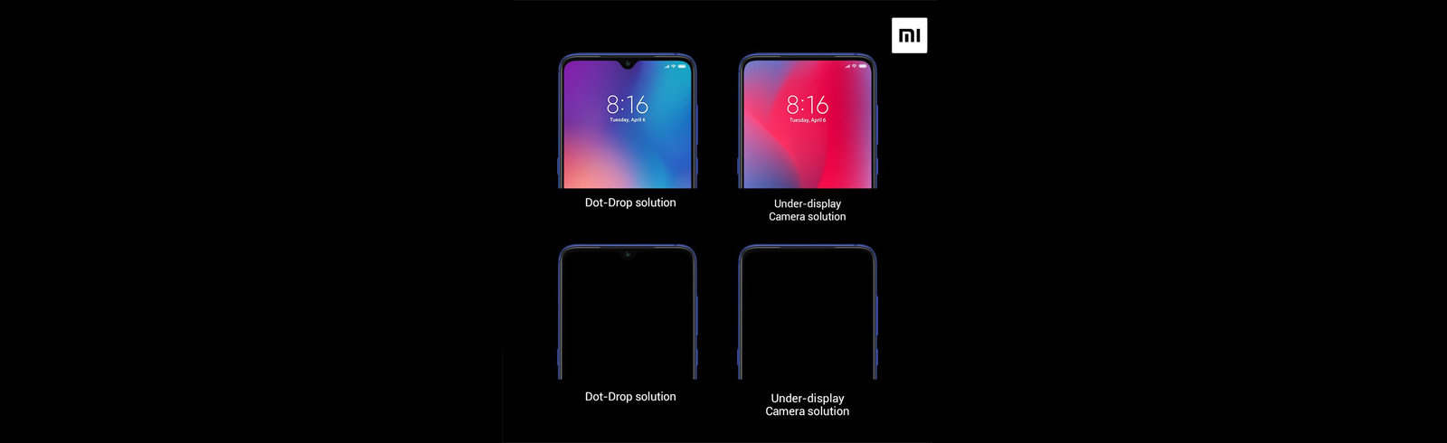 Xiaomi's Senior VP gives more insight into Xiaomi's under-display camera solution